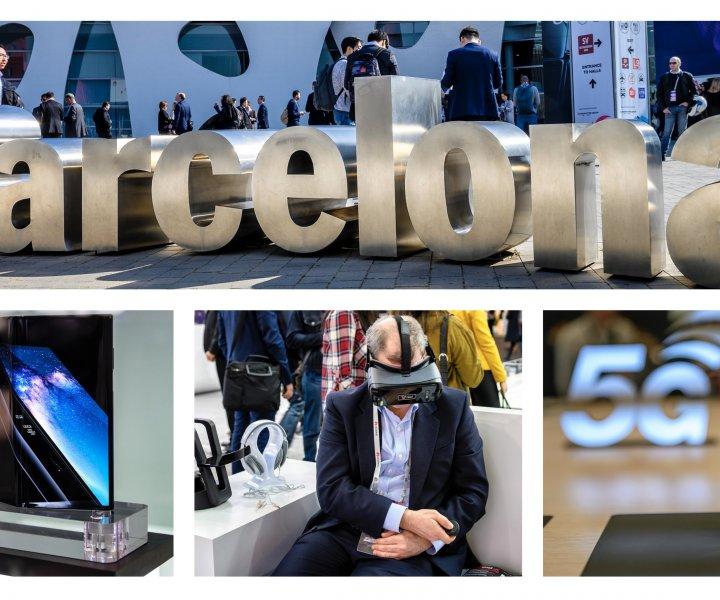Innsikteriet på Mobile World Congress i februar 2019, hvor brettbare smarttelefoner, 5G og Hololens 2 fikk de største overskriftene